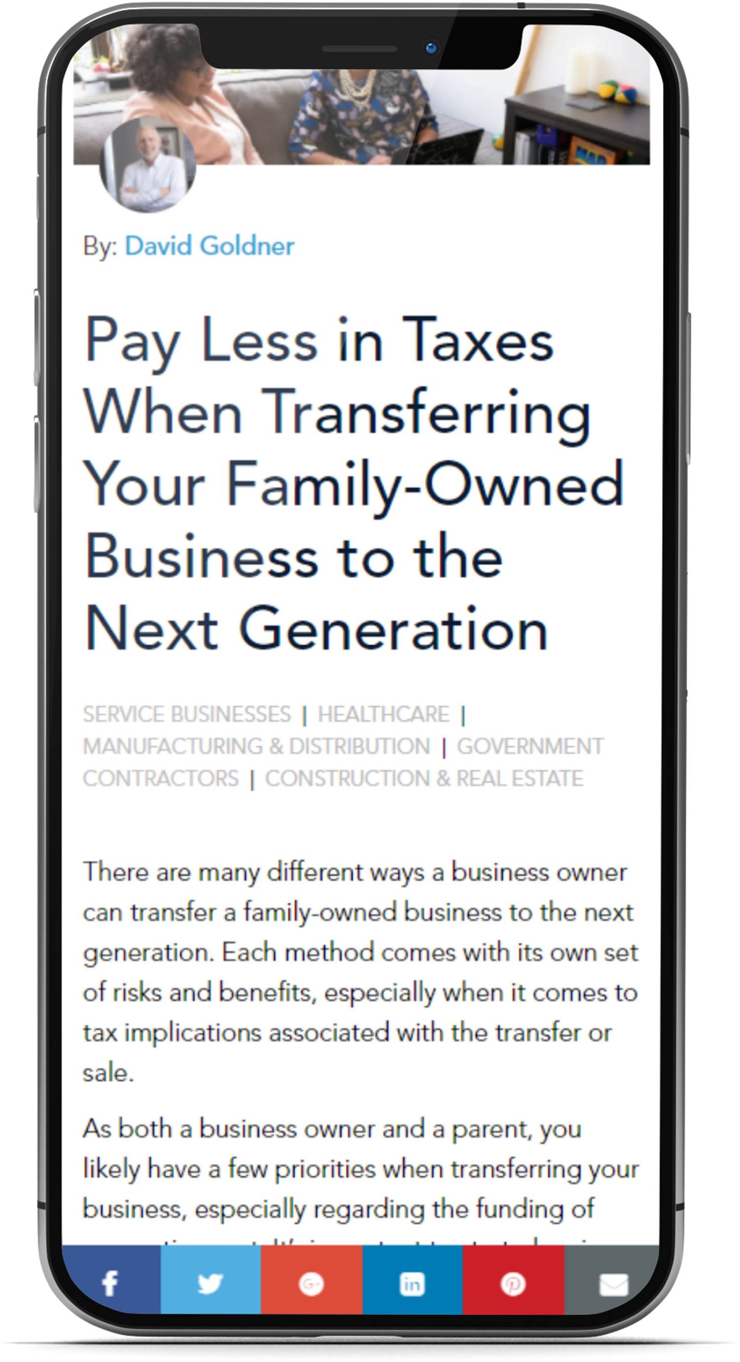 3D Cover - Blog - Pay Less in Taxes When Transferring Family Owned Business