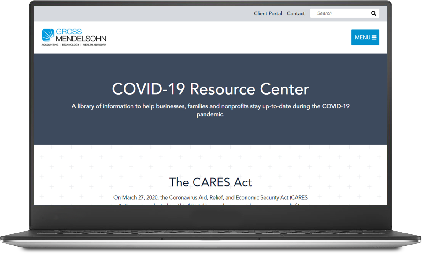 COVID-19 Resource Center eCover