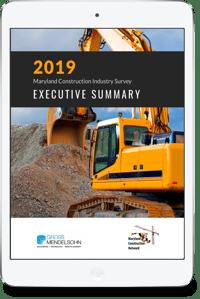2019 Maryland Construction Executive Summary