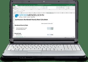 Burdened Hourly Rate Calculator for Contractors