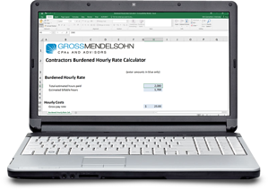 Burdened Hourly Rate Calculator for Contractors