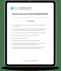 Business Exit Planning Checklist