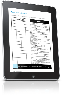 Estate Planning Scorecard