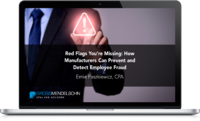 Manufacturing Fraud Webinar