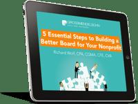 Nonprofit Board Webinar