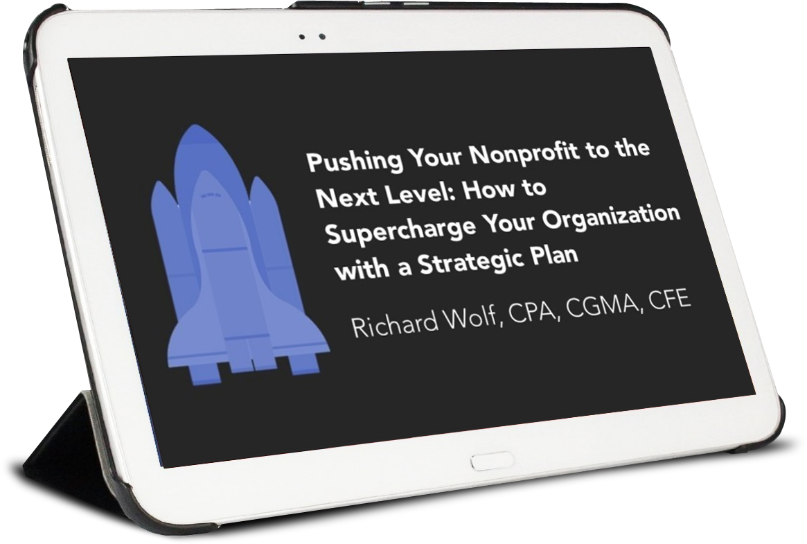 Nonprofit Strategic Planning Webinar